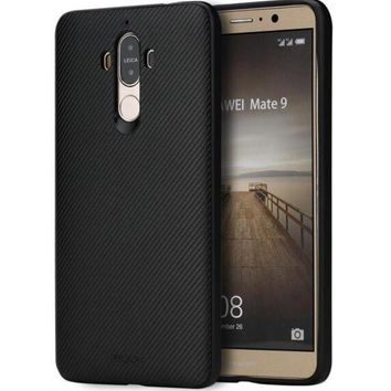DCCKL72 ROCK Textured Series Phone Case for Huawei Mate 9 Case, Grained Wooden soft cover Case for Mate 9 Back Cover Case