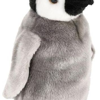 9 Inch Stuffed Arctic Penguin Plush Floppy Animal Kingdom Collection