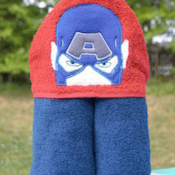 American Hero Hooded Towel