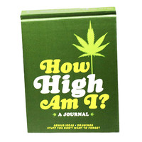 How High Am I Journal