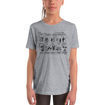 Bill of Rights Youth Short Sleeve T-Shirt