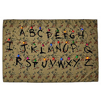 Alphabet Wall Tapestry - Stranger Things - Spirithalloween.com