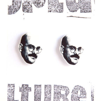 Arrested Development - 'Tobias Funke' stud earrings