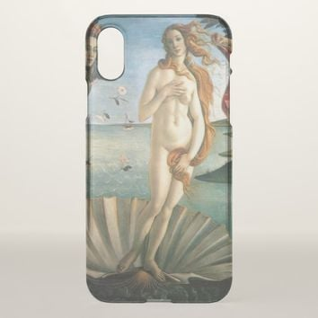 Birth of Venus iPhone X Case
