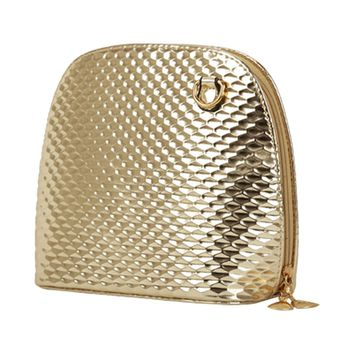 casual criss cross small shell handbag women evening clutch ladies party purse shoulder crossbody bags Gold