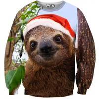 ☮♡ Christmas Sloth Sweater ✞☆