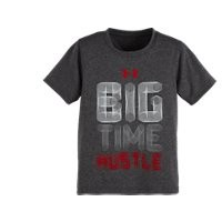 Under Armour Boys' Toddler UA Big Time Hustle T-Shirt