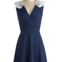 ModCloth Mid-length Sleeveless A-line Tea Time of Day Dress