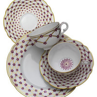 Elizabeth 5 Piece Placesetting by R Haviland and C Parlon