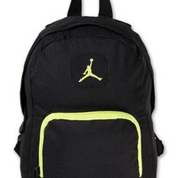Nike Air Jordan Backpack Black Green Toddler Preschool Boy Girl Small Mini Bag