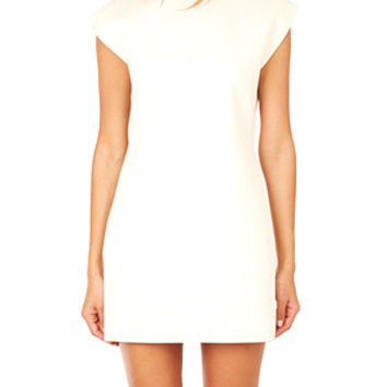 Helmut Lang Erosion Wool Dress