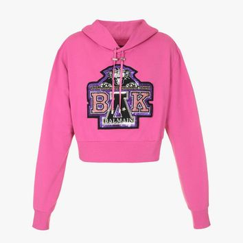 Embroidered Hoodie BALMAIN X BEYONCÉ for Women - Balmain.com
