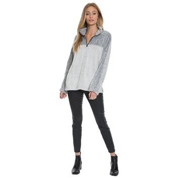 Tipped Shag Sherpa Pullover by Dylan (True Grit)