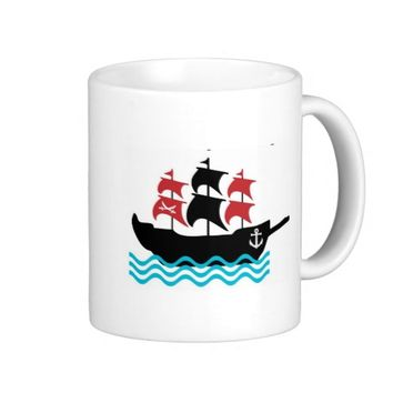 Pirates Ship Mug