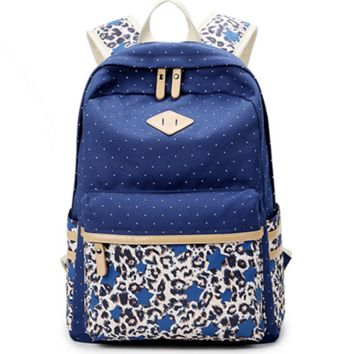 Cute Leopard Travel Bag Backpack