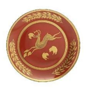 MOTTAHEDEH Leaping Reindeer Luncheon Plate Set of 2