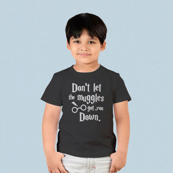 Kids T-shirt - Harry Potter Dont Let The Muggles Get You Down