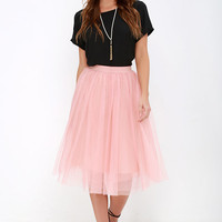 Urban Fairy Tale Blush Tulle Skirt