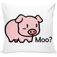 Moo? Pillow