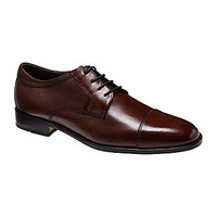 Johnston & Murphy Emmert Cap-Toe Oxfords - Mahogany