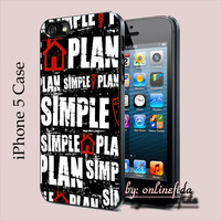 SIMPLE PLAN for iPhone 5 Case