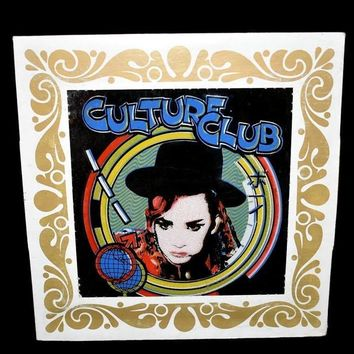 Culture Club Boy George Carnival Prize Mirror Original 1980s