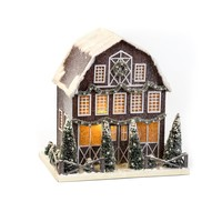 "8"" SMALL RED BARN"