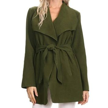 Knotty By Nature Jacket | Olive