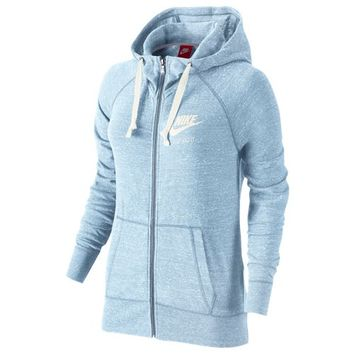 Nike Gym Vintage Full Zip Hoodie - Women's at Lady Foot Locker