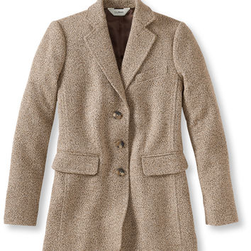 Wool/Cashmere Jacket, Boucl: Blazers | Free Shipping at L.L.Bean