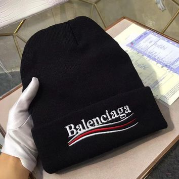 balenciaga women beanies knit winter hat cap 4