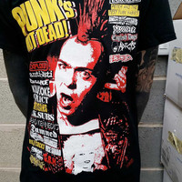 Punks not Dead T-shirt Exploited UK82