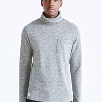 Native Youth Space-Dye Turtleneck- Charcoal