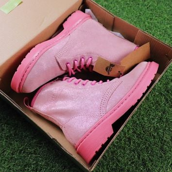 Sale Dr. Martens Modern Classics 1460 Bling Bling Pink Boots