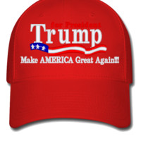 Trump for president 2016 - Flexfit Baseball Cap