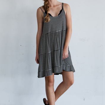 Jacklin Dress (striped)