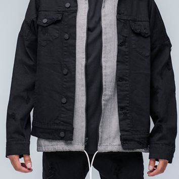 Delta - Black Selvedge Denim Jacket