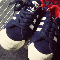 Love-Q168 ADIDAS Three men and women lovers men leisure trend low help shoes