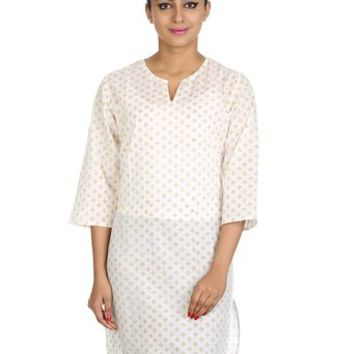 Women partywear Dress Kurta Tunics Long Kurti Top Size 3XL