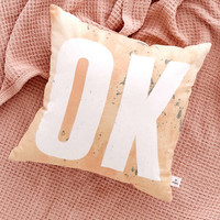 Ok Throw Pillow - Urban Outfitters