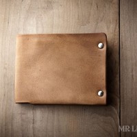 Minimal Leather Wallet - by Mr. Lentz