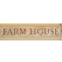 Farm house rustic sign, Hand painted rustic farm sign, white farm house sign, country wall decor, Rustic Wall decor, farmer wood sign