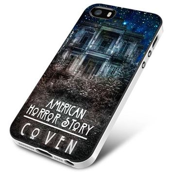 American Horror Story coven In Galaxy iPhone 5 | 5S | 5SE Case Planetscase.com