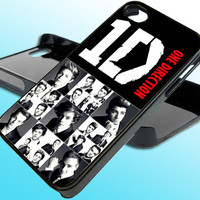 One Direction Collage for iPhone 4/4s Case - iPhone 5 Case - Samsung S3 - Samsung S4 - Black - White (Option Please)