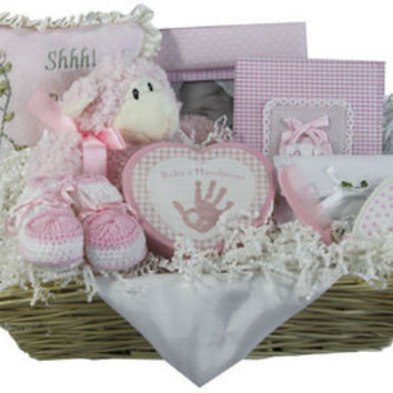 Elegant Treasures Baby Gift Basket