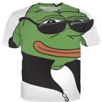 Cool Pepe the Frog T-Shirt