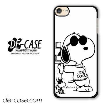 Snoopy Joe Cool DEAL-9766 Apple Phonecase Cover For Ipod Touch 6