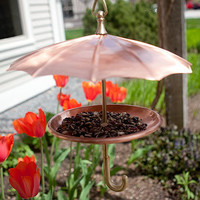 Bird Umbrella Feeder | Outdoor D?cor | Stonewall Kitchen - Specialty Foods, Gifts, Gift Baskets, Kitchenware and Kitchen Accessories, Tableware, Home and Garden Décor and Accessories
