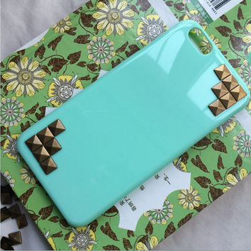 creative rivet, personalized protective case for iPhone 6 iPhone 6 plus iPhone5/s, summer gift,best friends gift