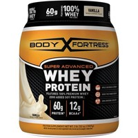 Body Fortress Super Advanced Whey Protein Powder, Vanilla, 2 lbs - Walmart.com